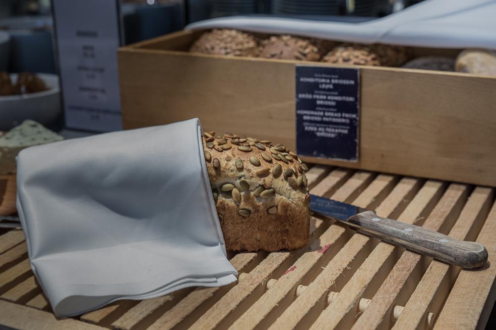Torni paikallinen leipä